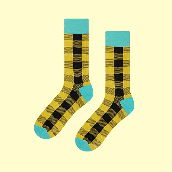 Phainoptila Socks | mens socks | casual socks | cool socks | women socks | check socks | patterned socks | colorful socks | cotton socks