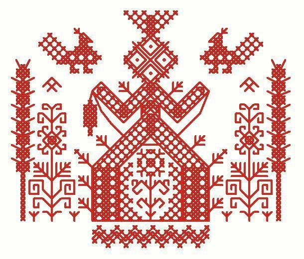 Схемы вышивки и описания славянских оберегов. Часть 2 / Мастер-класс.  Trans…