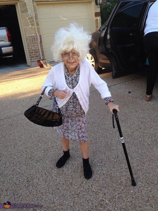 Kimberly: My 9 year old daughter, Abby, wanted to dress like a grandma after finding a funny rubber grandma mask at the local Halloween store. I knew she'd only wear the...