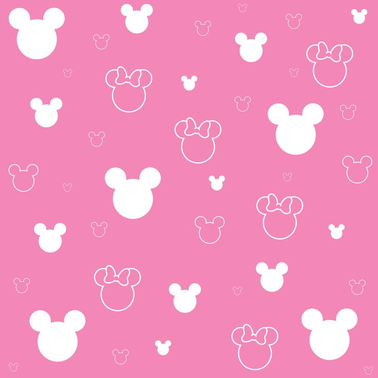 Pink Minnie Mouse Background