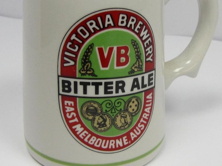 COLLECTIBLE: Australian Breweries VB BITTER ALE TANKARD