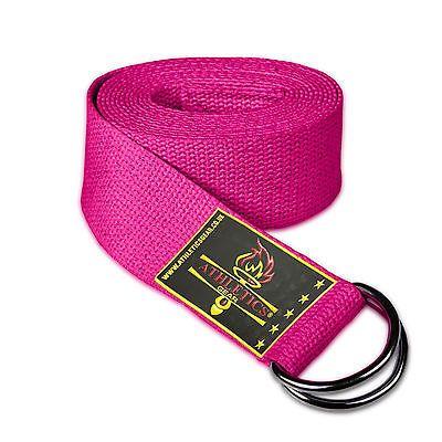 Pink yoga strap from eBay