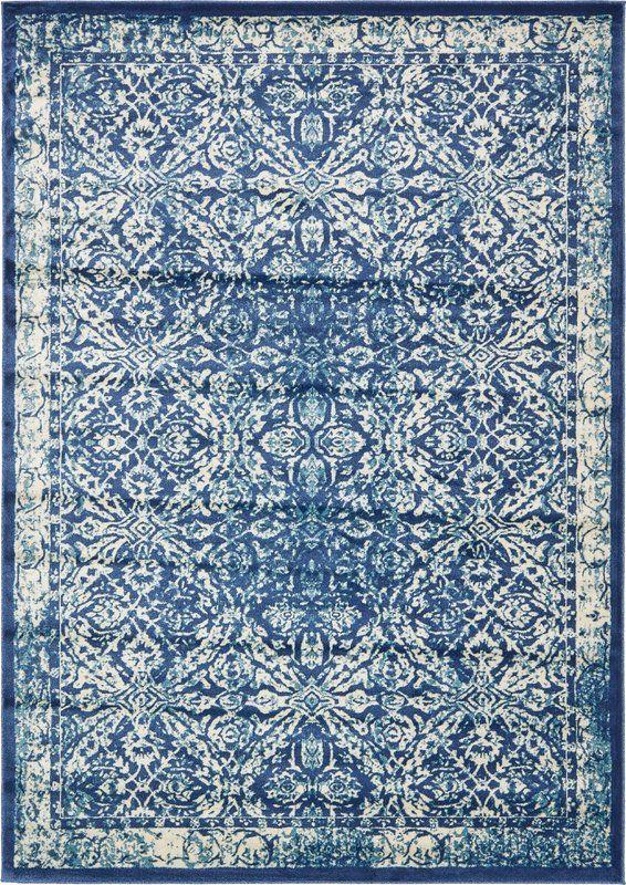 8x11 206 Jae Blue Indoor Area Rug Area Rugs Blue Rug Rugs On Carpet