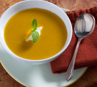 Thrifty Foods - Recipe - Slow Cooker Curried Squash and Apple Soup