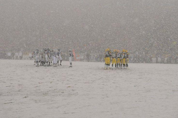 Jan. 12, 2008 - Packers vs. Seahawks at Lambeau Field