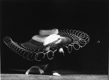 This is pretty awesome!    Harold Edgerton  Tennis Forehand, c.1940