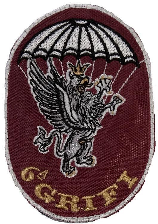 Patch omerale 5° Battaglione Par. 6^ Compagnia GRIFI