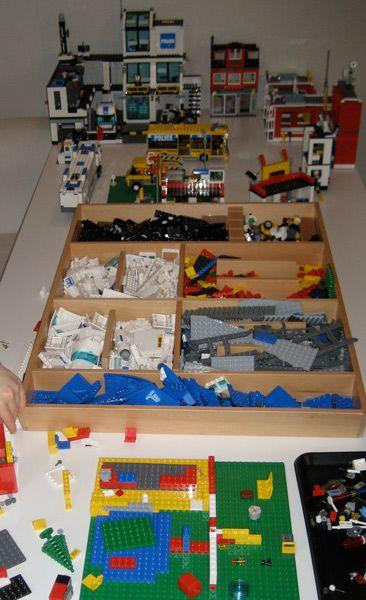 lego instruction book storage