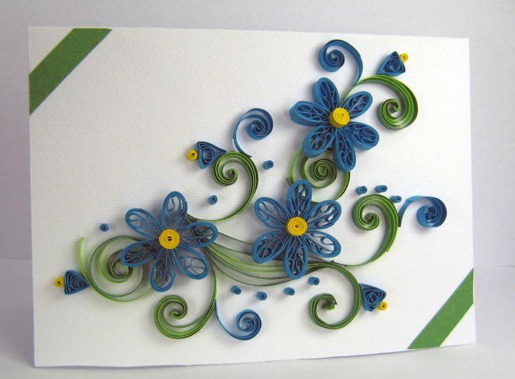 Квиллинг для начинающих открытки, открытки марта