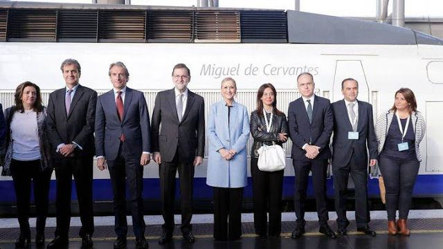 CRÓNICA FERROVIARIA: España: Rajoy anuncia una inversión de 500 millone...