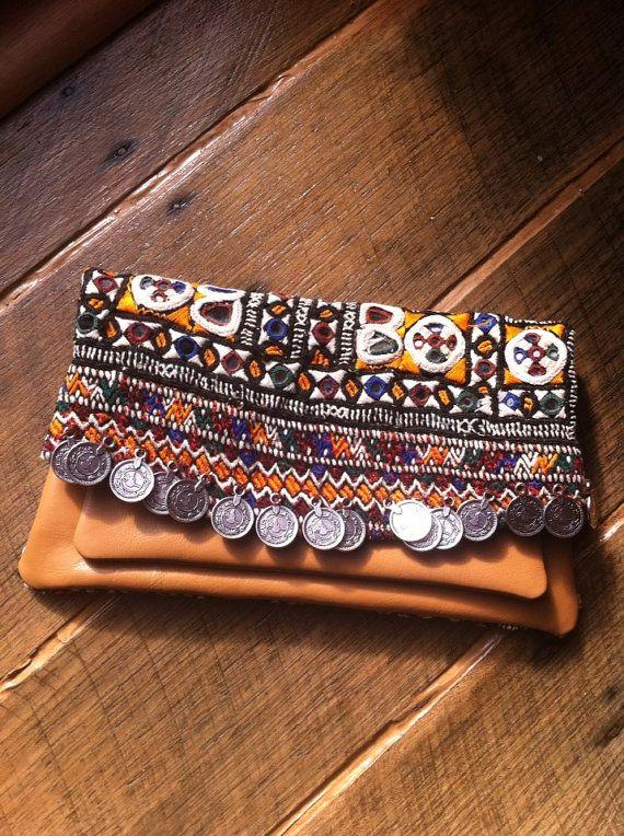 Vintage textile Banjara Clutch/Purse Bag by zencottage on Etsy, $64.00