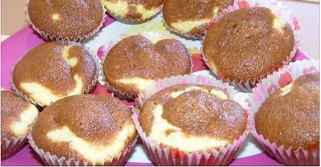 Bögrés túrós muffin