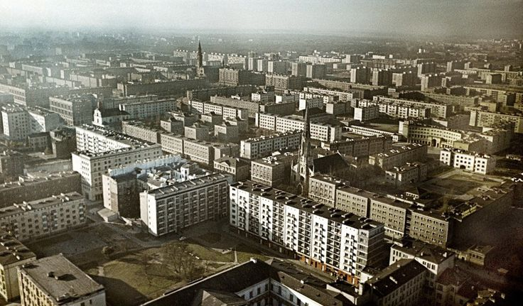 Warszawa 1963 - Muranów