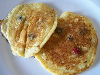 theworldaccordingtoeggface: Blueberry Cottage Cheese pancakes