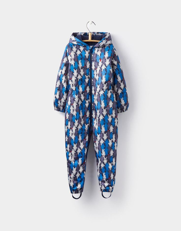 Cosy Multi Bear Camo Snowsuit 1-6yr | Joules UK