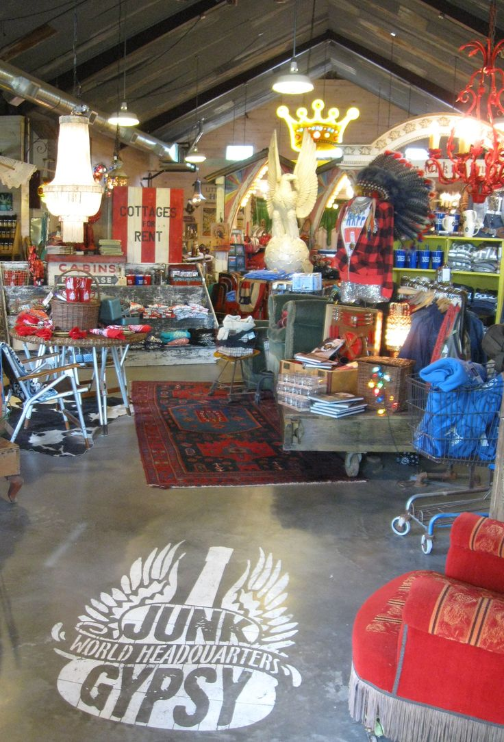 Junk Gypsy Store in Round Top Texas - They were real nice - Found lots of goodies - Thank you.