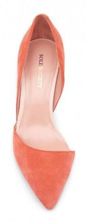 Pretty in Peach - Heels with Pointy Toes and a Cute Shape