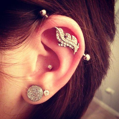 industrial bar | Tumblr | Cute piercings | Pinterest ...