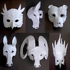 cool hand-made masks - Google Search