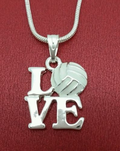Cute I Love Netball Necklace available at Juzii