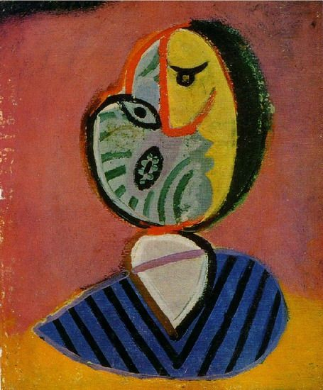 """Pablo Picasso - """"Head of a Woman"""", 1962"""