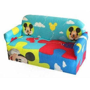 Exceptionnel DISNEYS MICKEY MOUSE CLUBHOUSE CHILDRENS BRANDED CARTOON CHARACTER SOFA  CHAIR BEDROOM PLAYROOM KIDS SEAT: Amazon