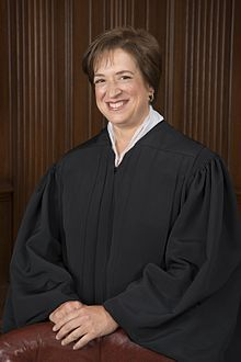 Elena Kagan (1960 - )  Kagan was sworn in on August 7, 2010, by Chief Justice John G. Roberts. Kagan's formal investiture ceremony before a special sitting of the United States Supreme Court took place on October 1, 2010. Born in NYC. After attending Princeton, Oxford, and Harvard Law School,..professor at the University of Chicago Law School, later as policy adviser, under President Clinton...a professor at Harvard Law School and was later named its first female dean.