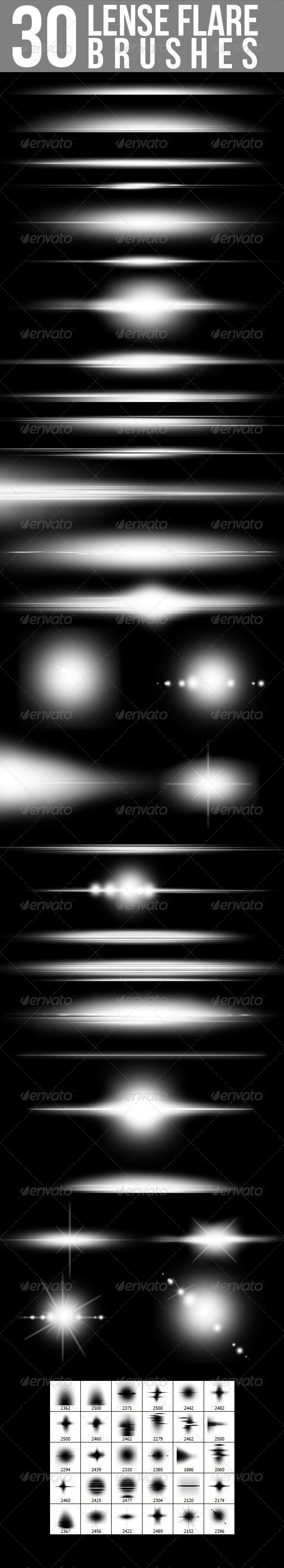30 Lense Flare Brushes     Get it here:  http://graphicriver.net/item/30-lense-flare-brushes/4177668/?ref=nada-images