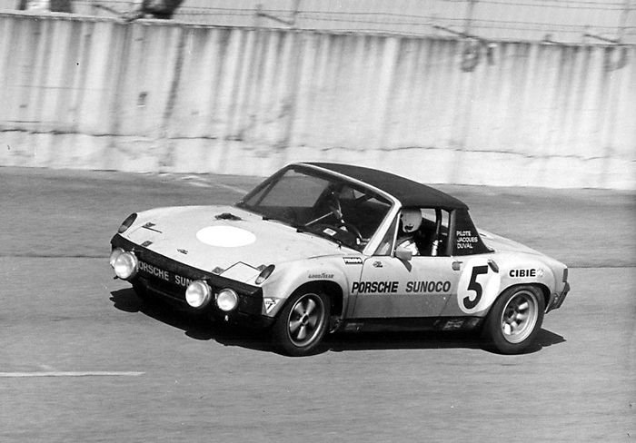 https://flic.kr/p/bQEMGk | Sunoco Porsche 914 at Daytona | I am having trouble locating what year at Daytona this car raced.  I thought it was 1971 but can't find any results listing the car.  Any help from you would be appreciated.