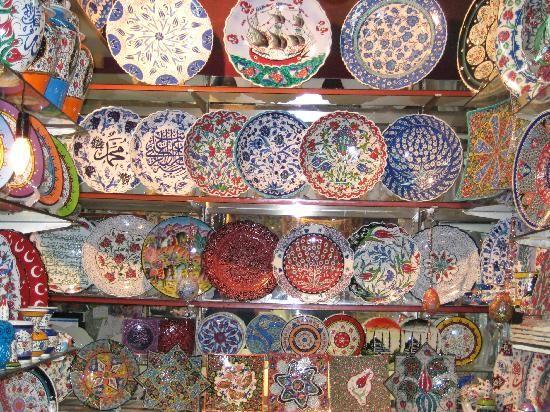 Ceramics in Instanbul.