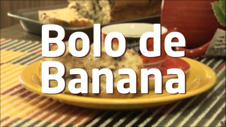 O Bolo de banana mais fácil do mundo