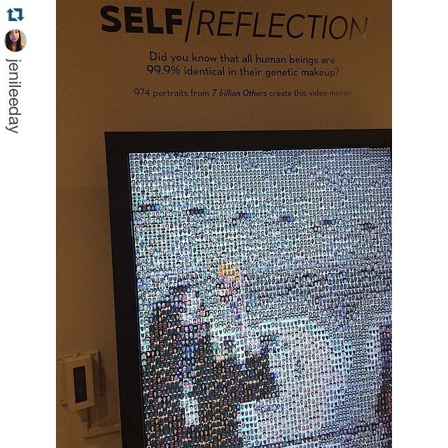 """Happy #InstaMuseum day! Thank you for sharing all of your fantastic in-gallery shots with us. We're digging the mega-selfies in Self/Reflection. #MOPA ・・・…"""