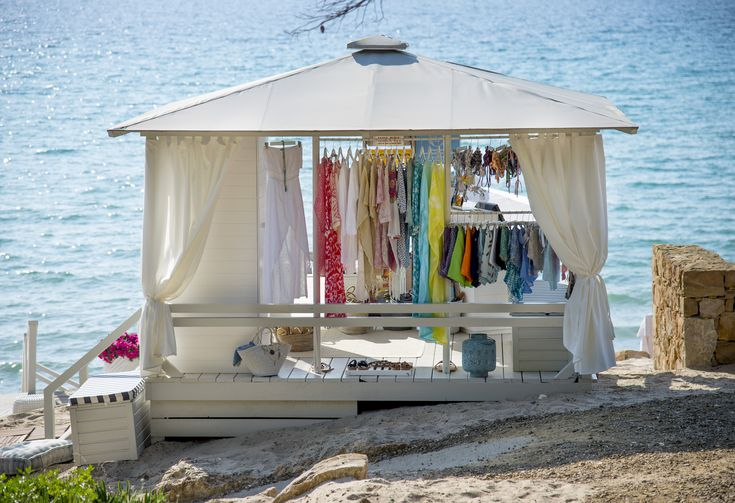 Apoella Cabana store - lifestyle beach boutique - sani resort at bousoulas beach - greece -island life - dreaming beach life - magic retail spot