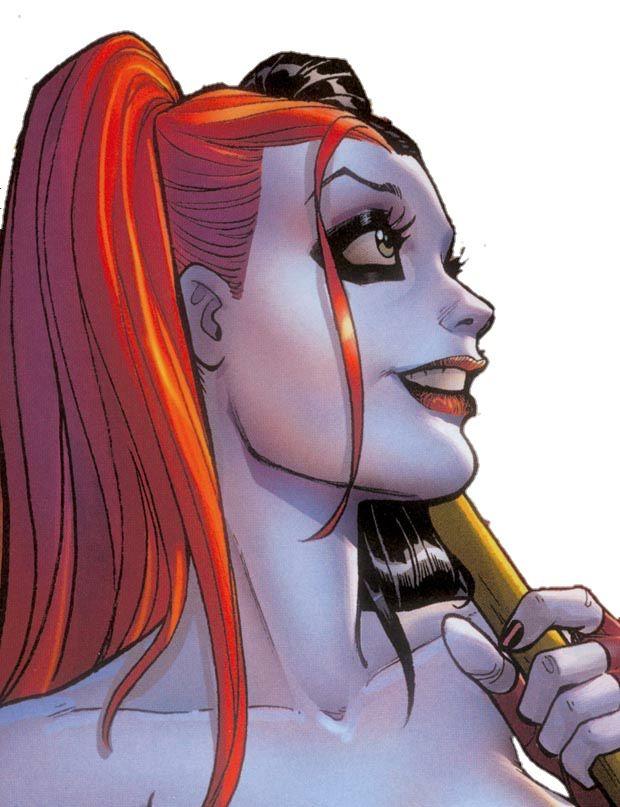 Harley Quinn by Amanda Conner, edited by HeroPix