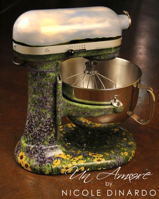 202 best images about kitchenaid on pinterest - Decorated kitchenaid mixer ...