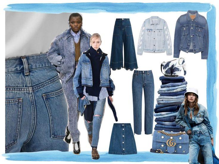 Denim geht immer. Das bewies Miuccia Prada gerade erst wieder bei Miu Miu. Unsere Shopping-Liste widmet sich dem beliebten Material