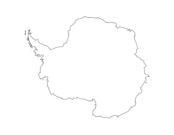Printable Antarctica Map Printable Maps Pinterest Maps