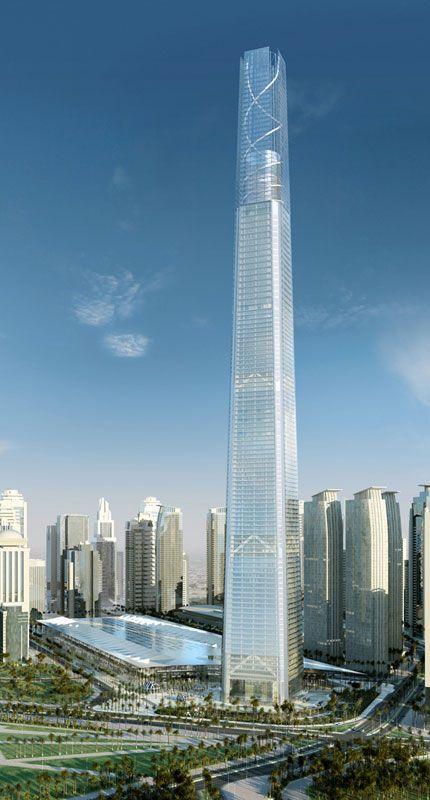 Doha Convention Center Tower - Murphy/Jahn - Doha, Oman