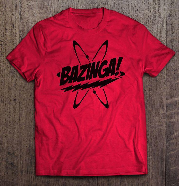 The Big Bang Theory - Bazinga! T Shirt