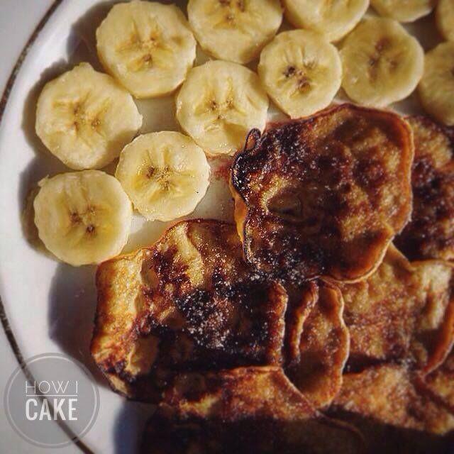 Villámgyors banános palacsinta - How I Cake