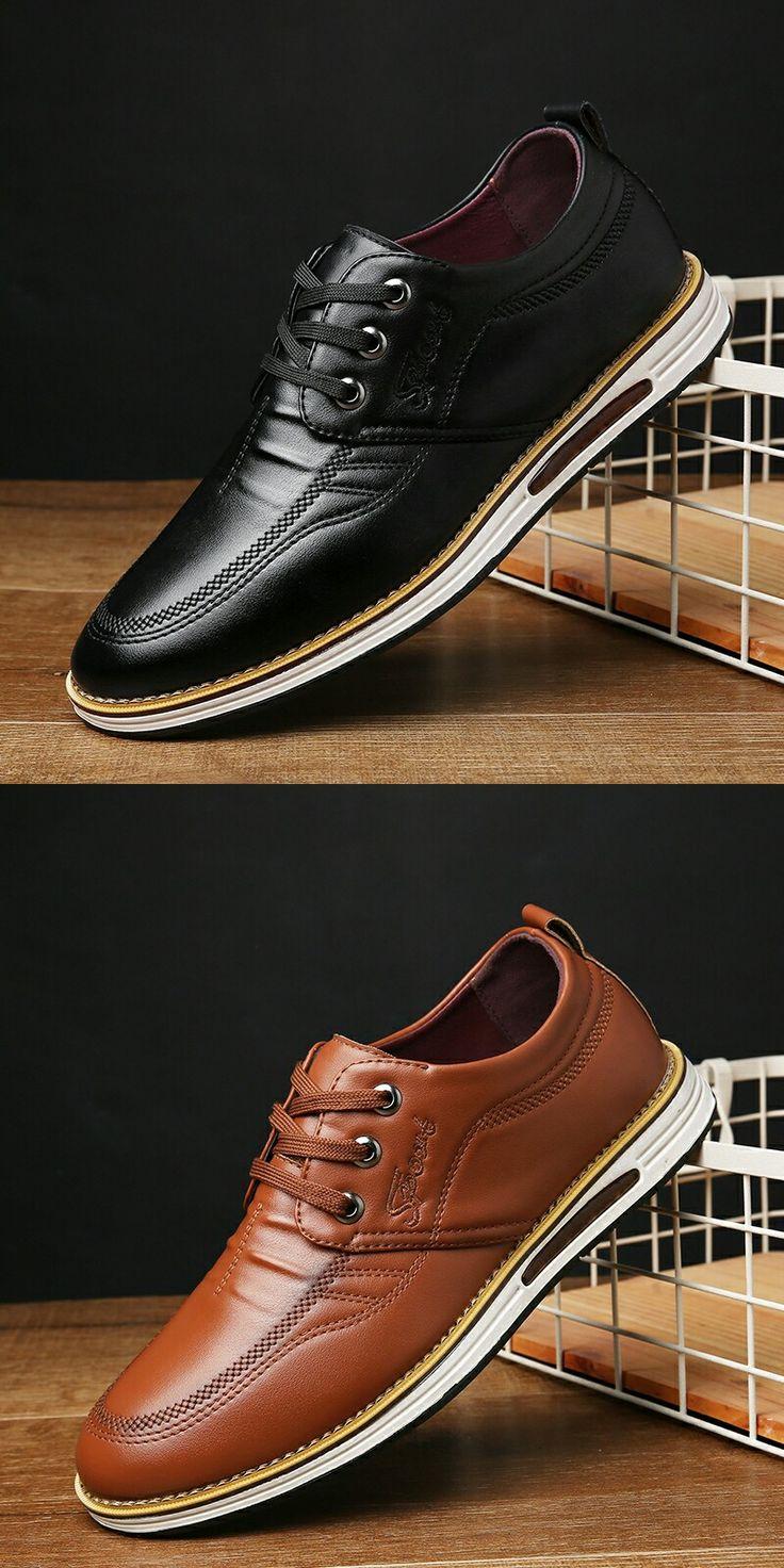 $24.98 <Click to buy> Men Formal Dress Business Shoe Brogue Flat
