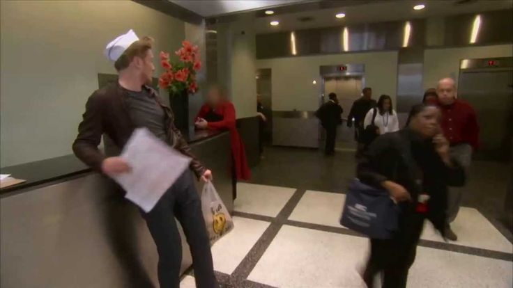 Conan returns to NYC to live the glamorous life of a Chinese food delivery man.