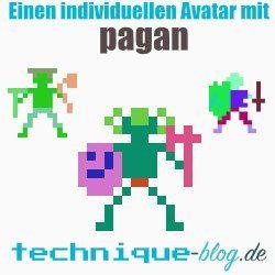 Einen individuellen Avatar erstellen mit pagan!