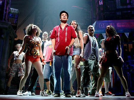 In The Heights. This was such a powerful show.  If you get the chance to go see it, do it!