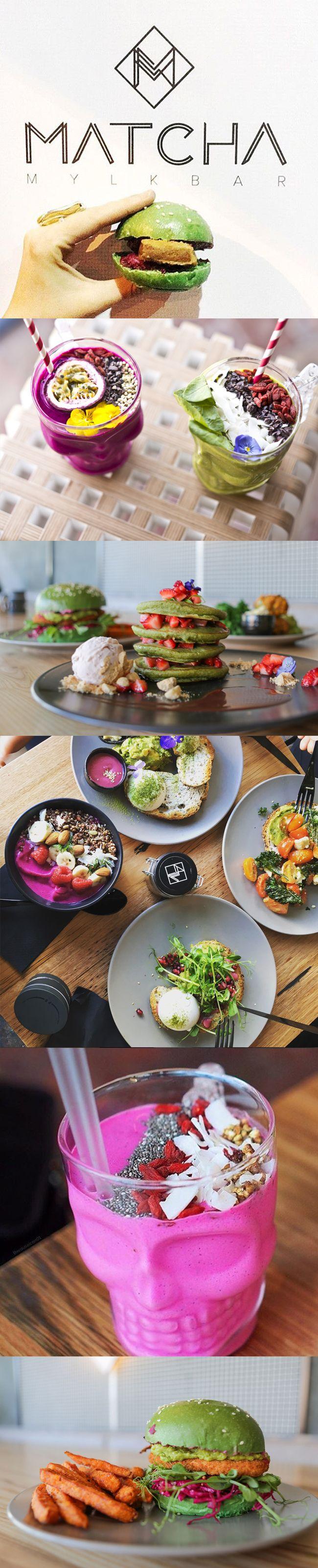Vegan Cafe // Matcha Mylkbar, St Kilda, Melbourne