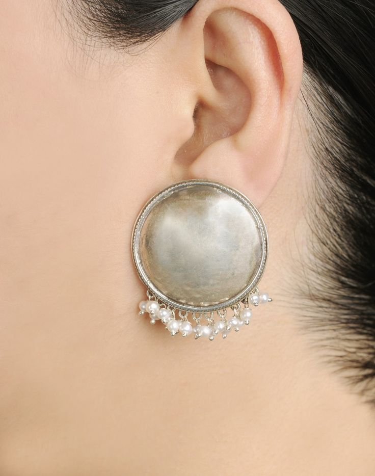 Fabindia.com | Earrings Silver Anusuya 956