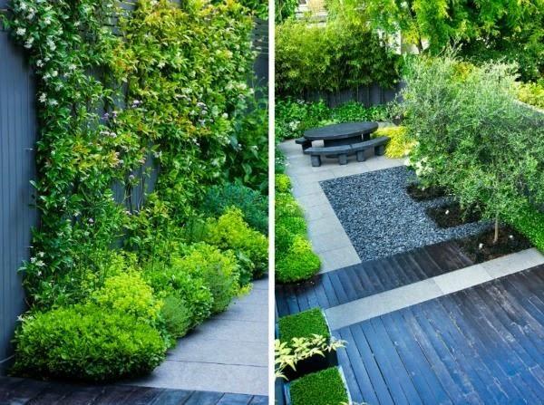 Un pequeño jardín urbano de aire oriental | Cuidar de tus plantas es facilisimo.com