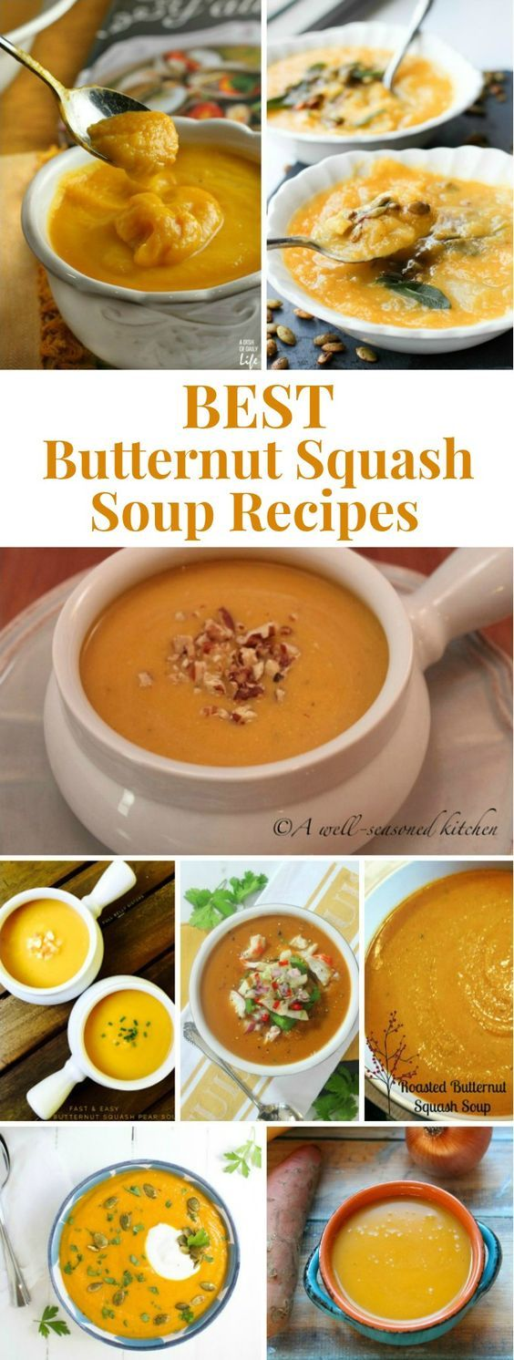 Looking for a new twist to an old favorite? Here are eight of the best butternut squash soup recipes to add to your fall or winter menu plan. Any of these would be a great starter to your Thanksgiving or Christmas holiday dinner as well!