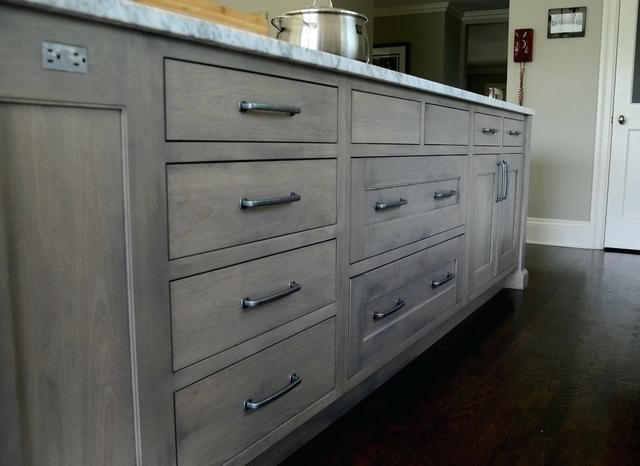 Image Result For Grey Stain Oak Kitchen Cabinet Gray Stained Cabinets Staining Cabinets Stained Kitchen Cabinets