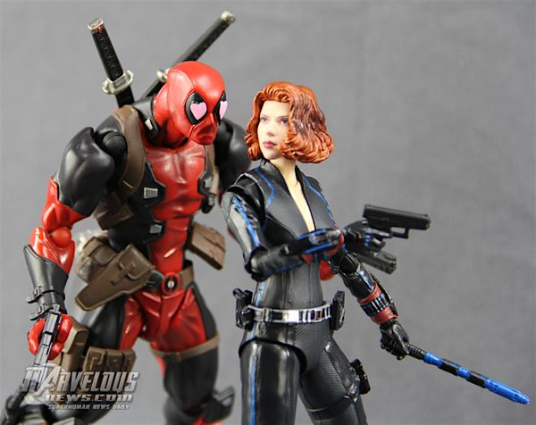 "Amazing Yamaguchi Revoltech 6"" Deadpool Figure Review & Marvel Legends Deadpool Give-Away #Marvel"